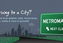 Websites & Social Media / Great websites and great social media tools. / by MetroMarks.com