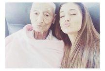 Ariana and her grandpa / Ariana Grande and Grandpa Grande