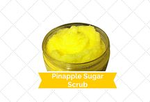 Buy Online Pinapple Sugar scrub / Pinapple Sugar scrub is an all natural skin exfoliate and moisturizing scrub that may assist to rapidly hydrate and buff your skin leaving it divine to touch.