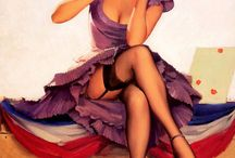 Pin-ups / by Lynda Donnelly-Crites