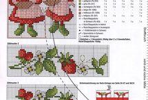 schemi fragole