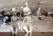 Dolls and teddies / by Rikke Lynge