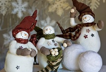 Holidays: Winter Snowmen / by Three Little Hams