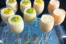 YOGURT CREATIONS / Healthy yogurt creations. You can have these anytime for breakfast, dessert or just a snack!