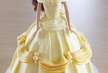 magical dress cake
