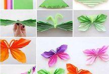 origami e altre creazioni con la carta
