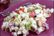 Salads / by aly vander