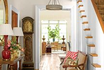 Foyer & Entry  Ideas / That first peek inside, makes such a great first impression.