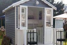 Grey summer house