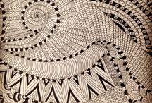 DesignSake - Ankkita / I am trying my hands on few zentangle or tribal arts in my own way.