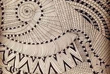 DesignSake - Ankkita / I am trying my hands on few zentangle or tribal arts in my own way.