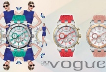 VOGUE watches in bright colors for a modern look!!