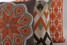 Interior: orange - brown