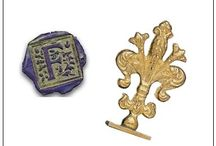 Initial Wax Stamps Sealing Wax / Say volumes with just one letter! A single initial wax seal can make a huge statement.