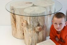 Tree stumps DIY