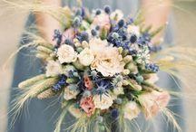 Braustrauß/ Blumen