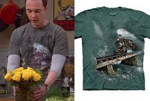 Seen on TV / Screen stars casually seen wearing The Mountain T-shirts!