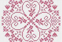 mandala borduur patronen