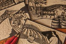 LINO CUTS & WOOD CUTS