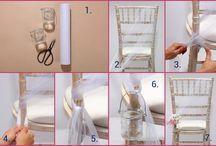 decoration chaise