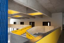 Concrete and Yellow