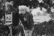 """Art photography: Bunny Yeager (1929-2014) / Linnea Eleanor """"Bunny"""" Yeager (March 13, 1929 – May 25, 2014) was an American photographer and pin-up model. Yeager's obituary in The Miami Herald called her """"one of the country's most famous and influential photographers."""" She has been cited as influencing many artists and photographers including Diane Arbus, Cindy Sherman and Yasumasa Morimura. Arbus called her, """"the world's greatest pinup photographer."""