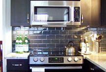 Kitchen Ideas / Colours, textures, organization