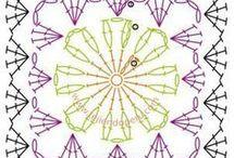 crochet pattern square