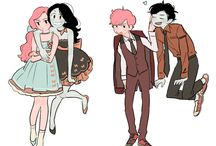 Couples from cartoons