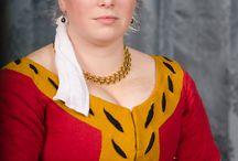 Dress 1500-1550 - Reconstructions women / reconstructions of female dress