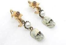 Our skull earrings