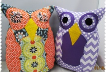 Polly and her friendly owls