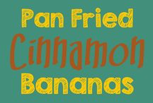 cinamon bananas