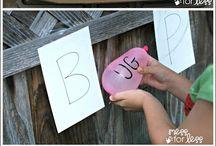 Teaching/School Fun for the Kids / Fun activities to teach the kids in a fun way!