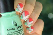 ongles géométrique