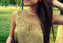 CROHET blouse