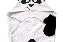 Petits Pandas  / Textile, Décoration et Papeterie pour bébés sur le thème des pandas. www.lilibou.fr