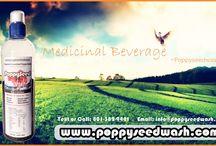Medical Beverage- Poppy seed wash