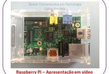 Projetos com Raspberry Pi / Diversos projetos com Raspberry PI e componentes eletrônicos, como sensores, motores, telas LCD e muitos outros.