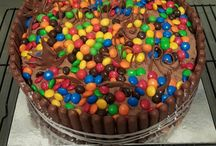 My own cakes and party food