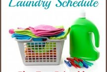 Home management / Chore charts, cleaning schedules, meal planning, home management binders, etc.  / by Jackie Davis