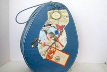 Vintage Suitcases and Train Cases