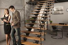 Модульные лестницы / Модульные лестницы — это легкие, небольшие по объему конструкции, которые занимают минимум пространства. Они отличаются современным дизайном, надёжностью и низкой ценой. На этой доске представлены модульные лестницы от компании Do-Up(Бельгия), а также Mercury forge(Россия)