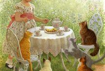 tea party / by Brenda Stewart