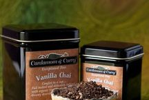 Real Chai! / Some examples of our real chai's created, blended, and even drank by us! We love them! http//:cardamomandcurry.com