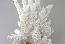 Paper sculptures - paper ary