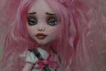 El arte de customizar / Cambio que imagen de muñecas .