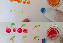Stamp painting ideas