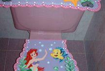 juegos de baño infantiles