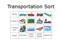 Toddler: transportation